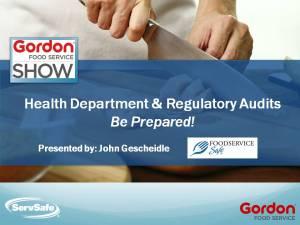 GFS Audit Presentation image